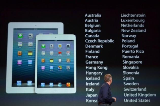 Apple презентовала  iPad Mini. Видео - фото №1