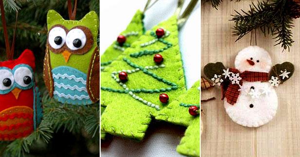 Как сделать новогодние украшения с детьми - фото №2