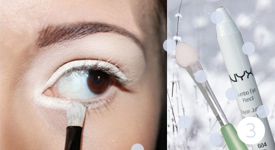 Как сделать снежный макияж глаз: пошаговый фото-урок - фото №4