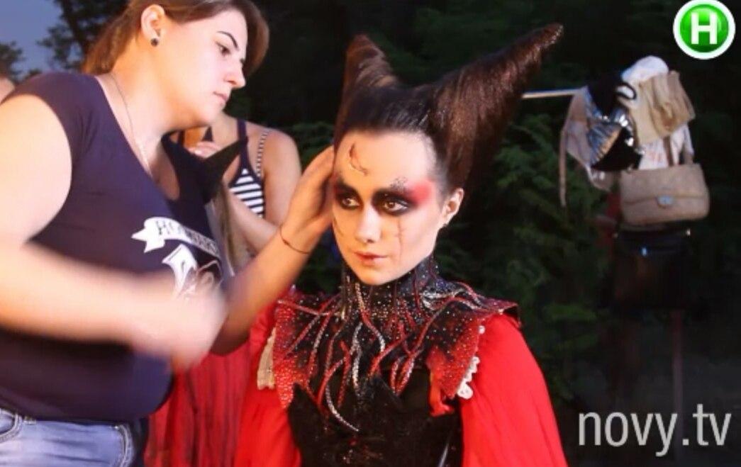 супермодель по-украински 2 сезон макияж цирк