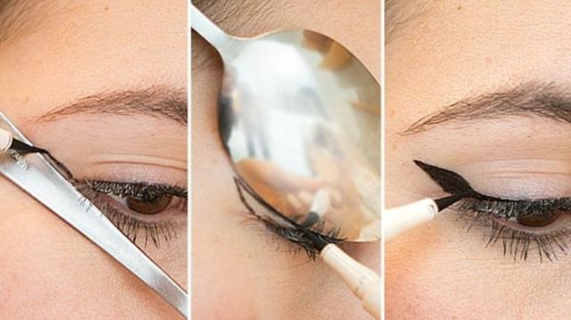 Хитрость: как нарисовать стрелки с помощью ложки (+ВИДЕО) - фото №2