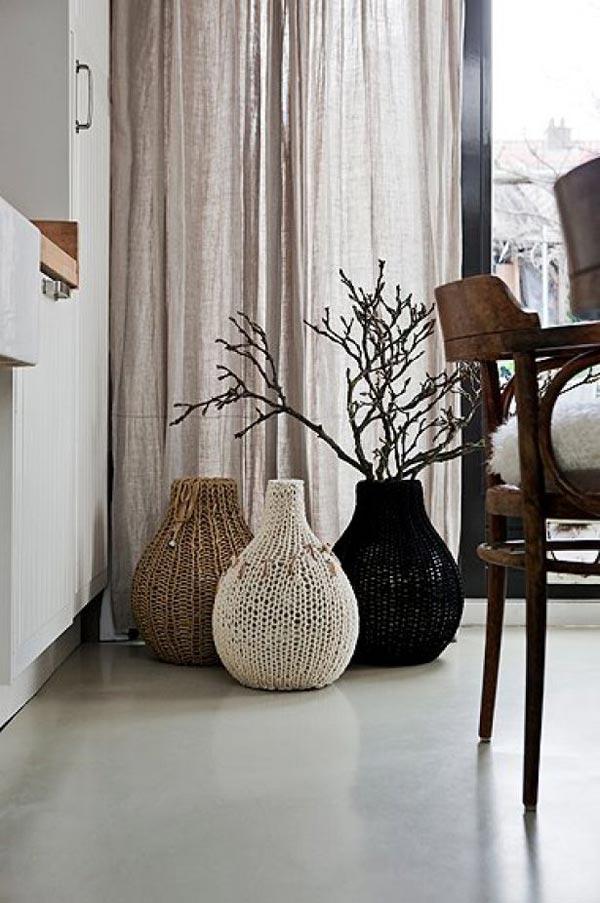 Тренд в интерьере: крупные вазы - фото №6