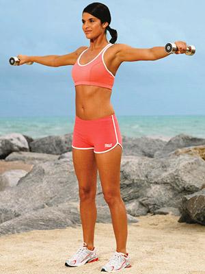 Любимые фитнес-упражнения Холли Берри - фото №2