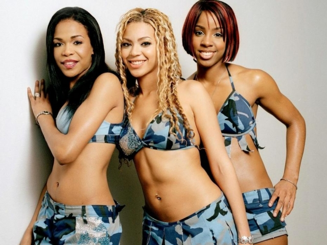 Эволюция стиля Бейонсе Destiny`s Child