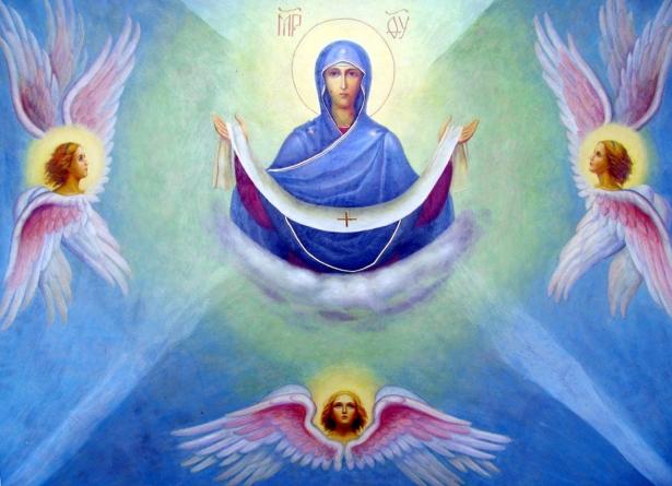 икона покрова богородицы фото