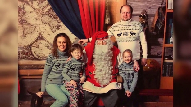 виктор бронюк семья фото