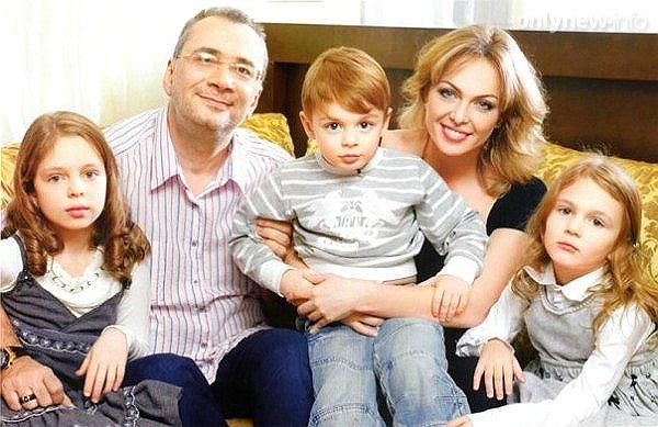 Меладзе с детьми