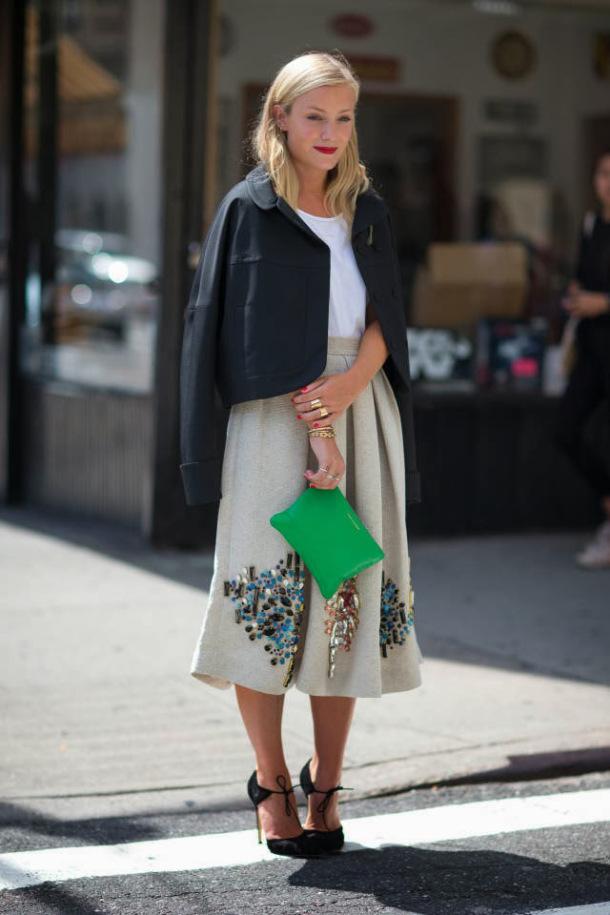 50 юбок в стиле new look - фото №15