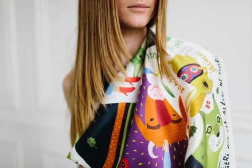 шелковый платок украина купить