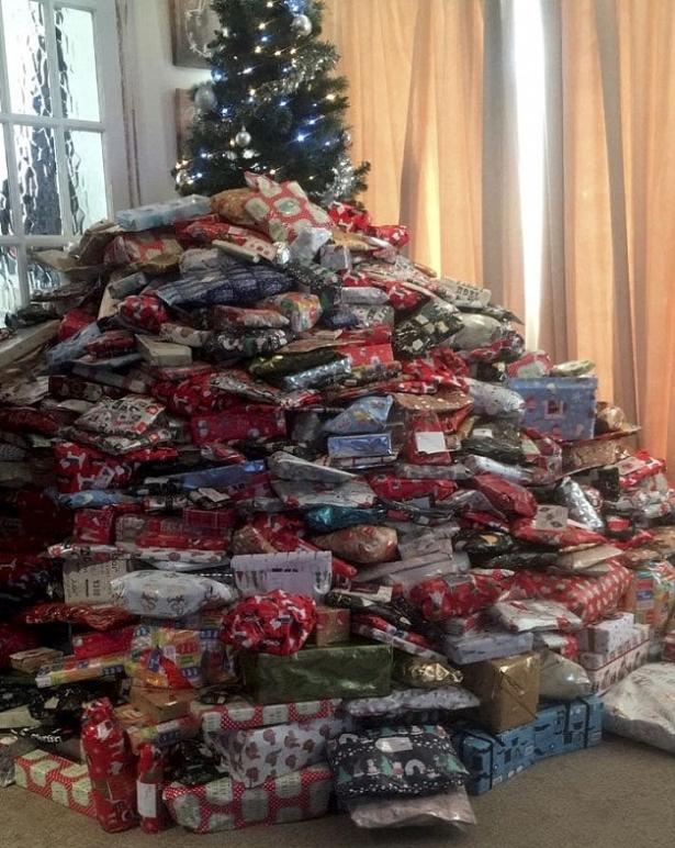 Рождественские подарки Эммы Таппинг 2016 г.