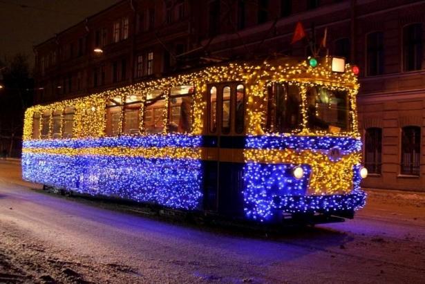 транспорт в новогоднюю ночь