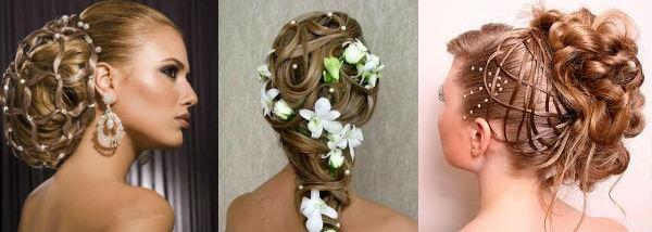 Модные свадебные прически весна-лето 2014 - фото №3
