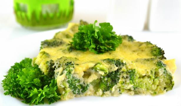 Как приготовить запеканку из брокколи и цветной капусты - фото №1