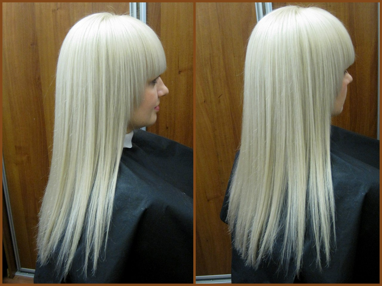 окрашивание в блонд