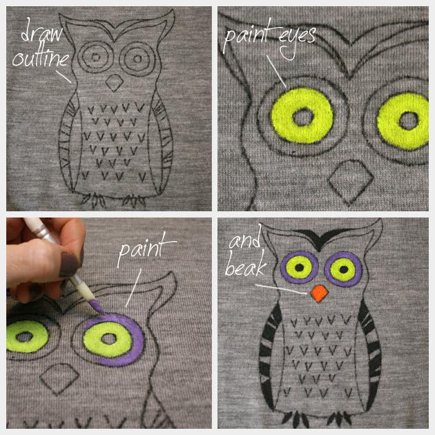 Мастер-класс: как сделать рисунок на одежде. Фото - фото №4