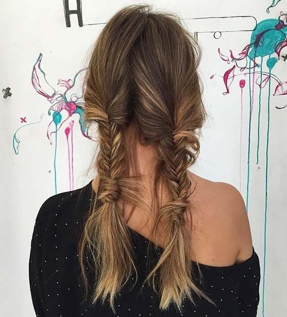 """Как плести косу """"рыбий хвост"""": учимся делать стильное плетение на все случаи жизни - фото №6"""