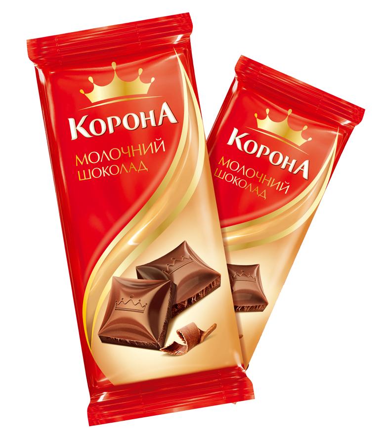 шоколад корона акция