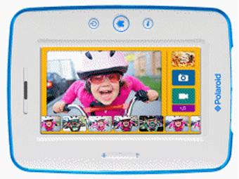 Polaroid выпустил планшет для детей - фото №1