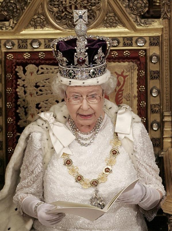 Королева Елизавета празднует юбилей правления - фото №1
