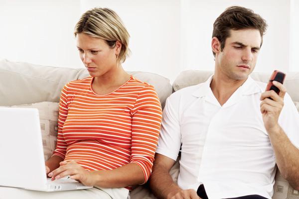 пара на грани развода