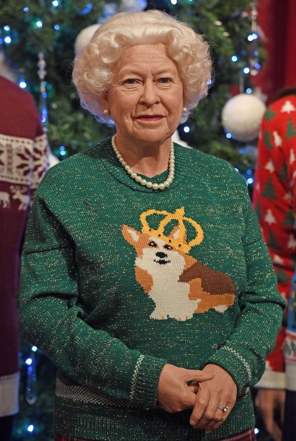 Восковая королевская семья похвасталась рождественскими свитерами (ФОТО) - фото №2