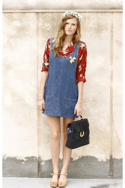 Топ 20 модных весенних платьев из денима - фото №2