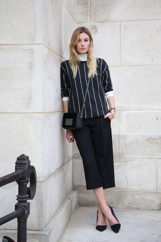 Тренд: модные брюки-кюлоты - фото №29