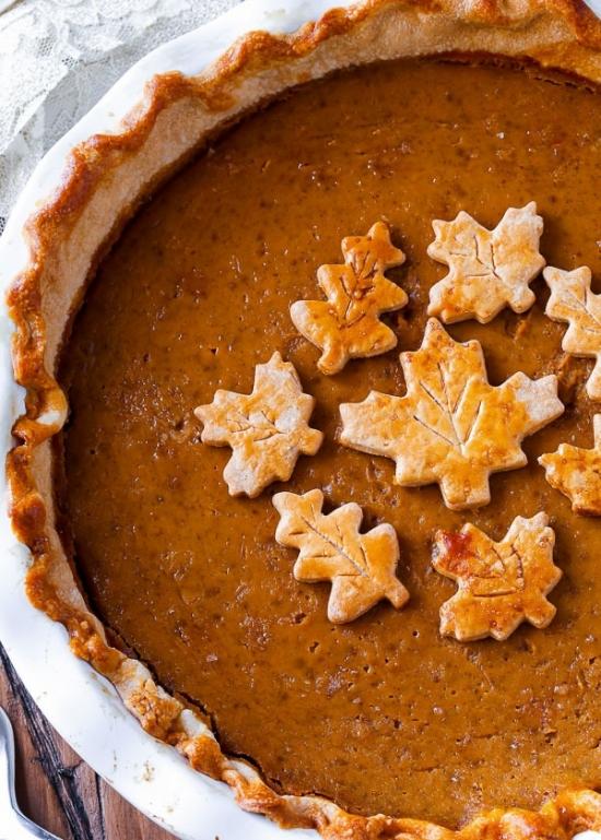 Вкусные блюда из тыквы: простой рецепт тыквенного пирога с лимонной цедрой - фото №1