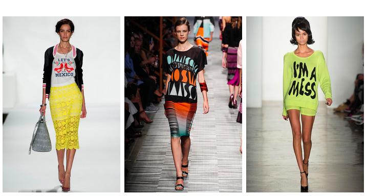 Тренд сезона весна-лето 2014: надписи и слоганы на одежде - фото №5