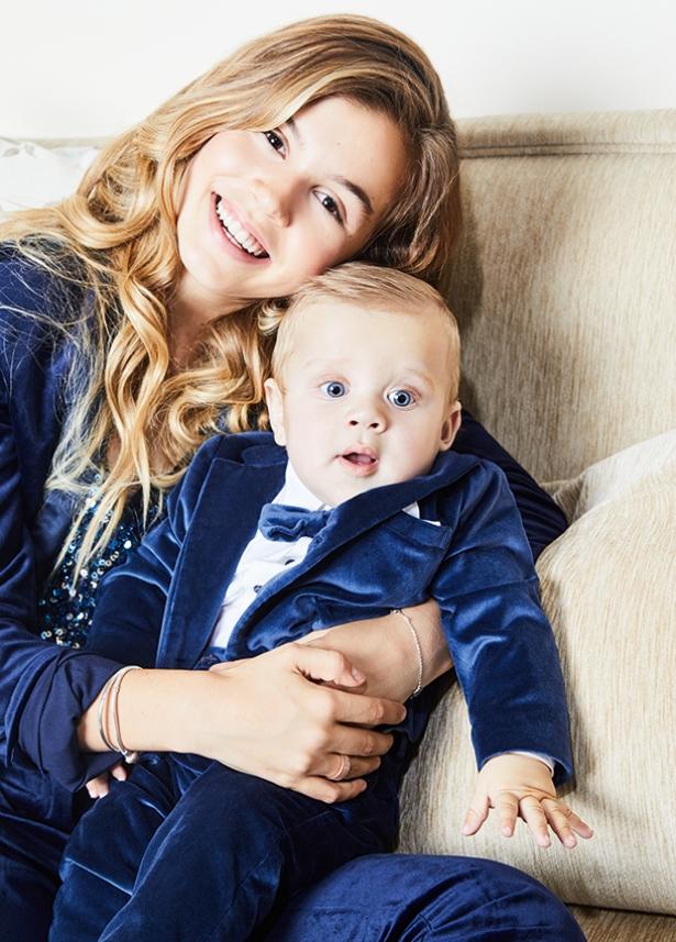 Дочка и сын Анны Седоковой