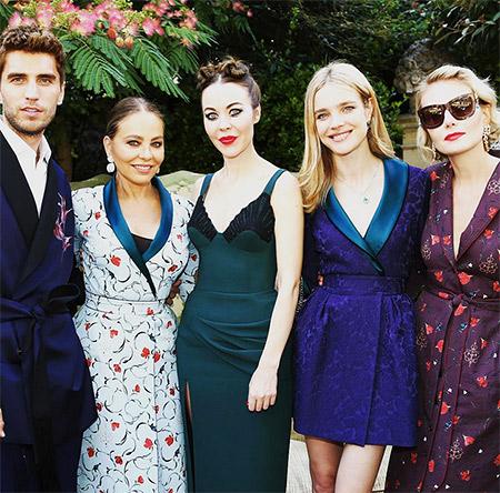 Неделя высокой моды в Париже: Ulyana Sergeenko осень 2015