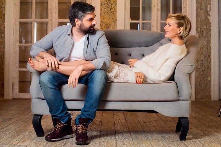 Когда жену фотографирует муж: роскошная Полина Гагарина для Alexander Terekhov resort 2016 - фото №1