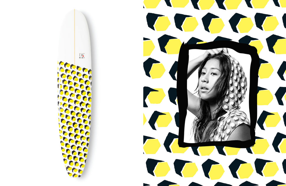 Диана фон Фюрстенберг создала купальники для ROXY - фото №7