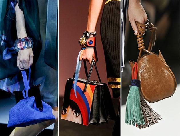 Модные сумки сезона весна-лето 2014 - фото №14