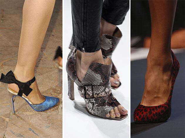 Модная обувь сезона весна-лето 2014: туфли - фото №1