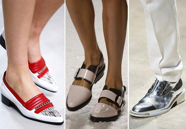 Модная обувь сезона весна-лето 2014: туфли - фото №3