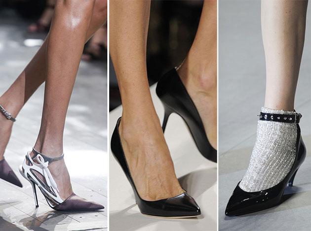 Модная обувь сезона весна-лето 2014: туфли - фото №4