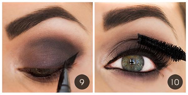 Как сделать модные осенние smoky eyes: пошаговый урок - фото №7