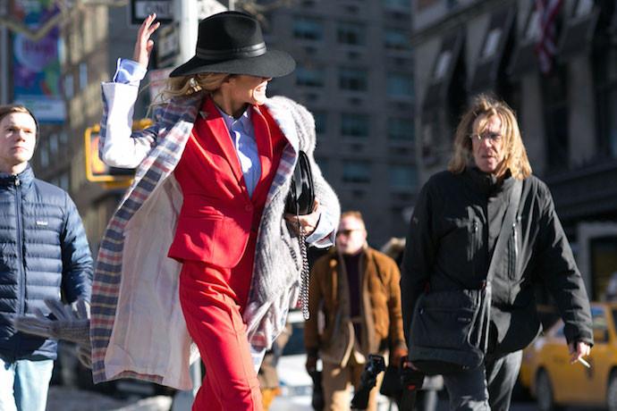 Street style: в чем пришли гости Недели моды в Нью-Йорке