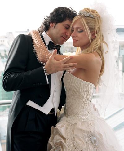 Авраам Руссо с женой
