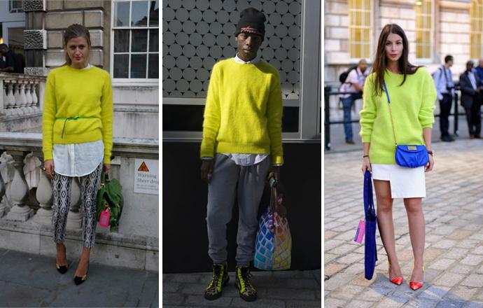 Уличный стиль на Неделе моды в Лондоне - фото №4
