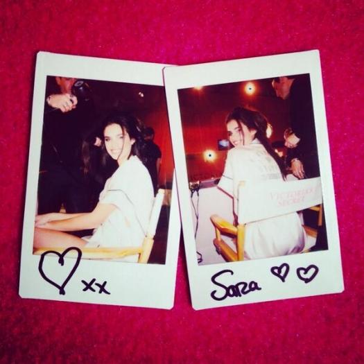 Шоу Victoria`s Secret 2013: подиум, бэкстейдж и красная дорожка - фото №21