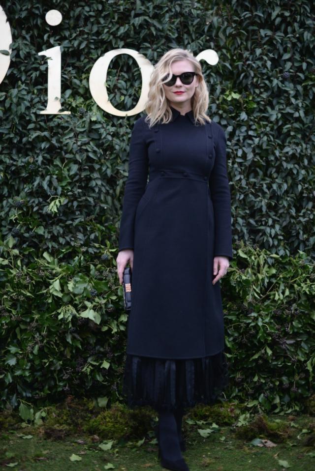 Неделя высокой моды в Париже Christian Dior Couture ss 2017 Кирстен Дантс фото