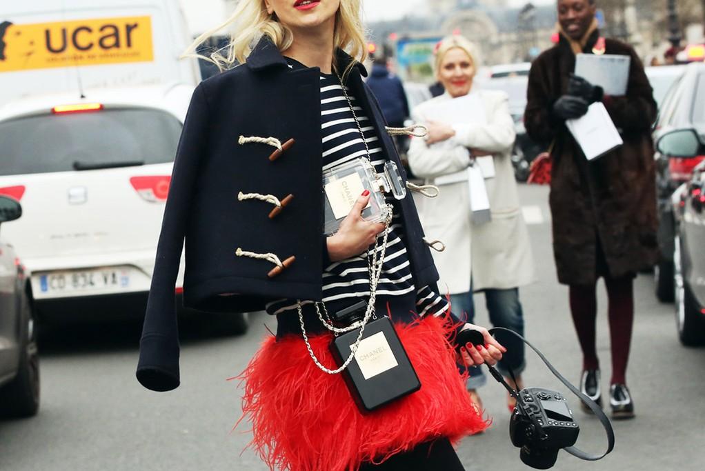 Уличный стиль на Неделе высокой моды в Париже - фото №4