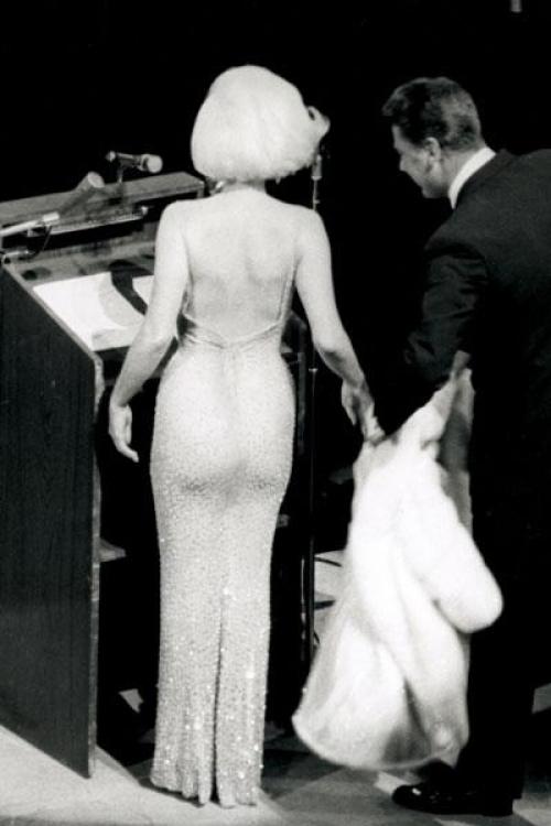 платье монро аукцион
