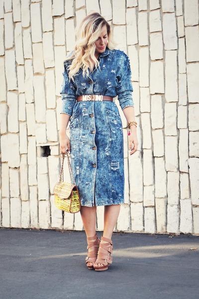 Топ 20 модных весенних платьев из денима - фото №1