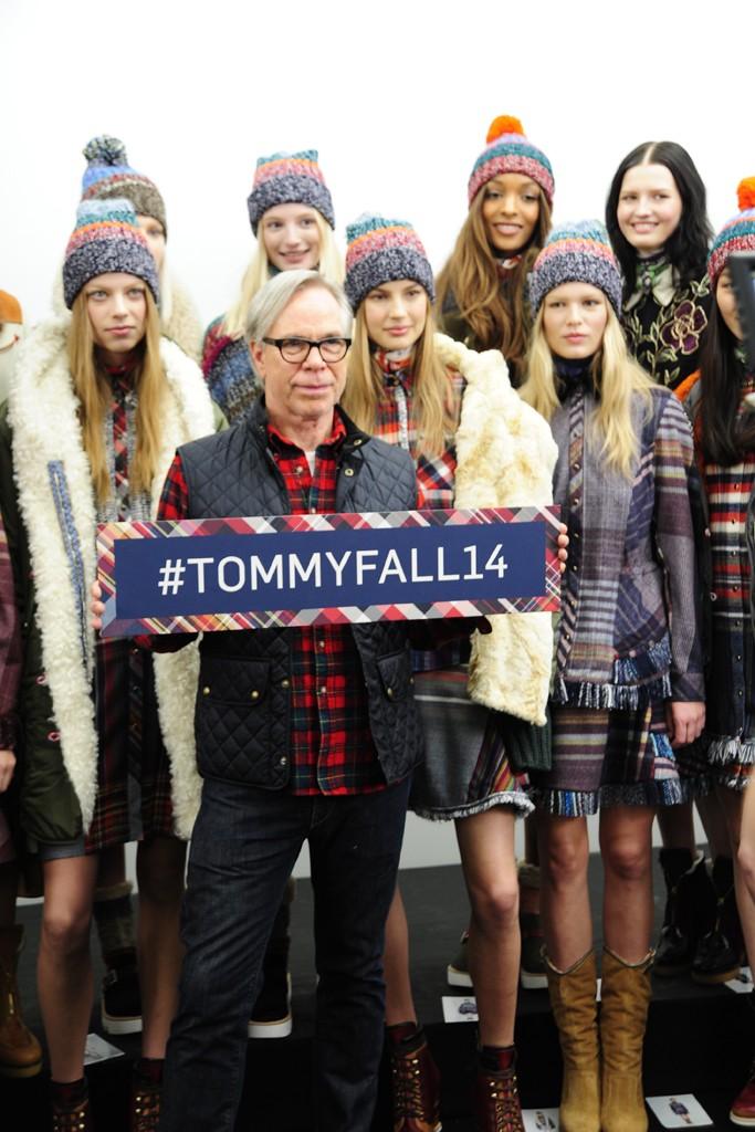 Неделя моды в Нью-Йорке: Tommy Hilfiger осень-зима 2014-2015 - фото №3