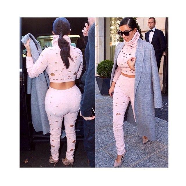 Одеться как Ким Кардашьян - фото №3