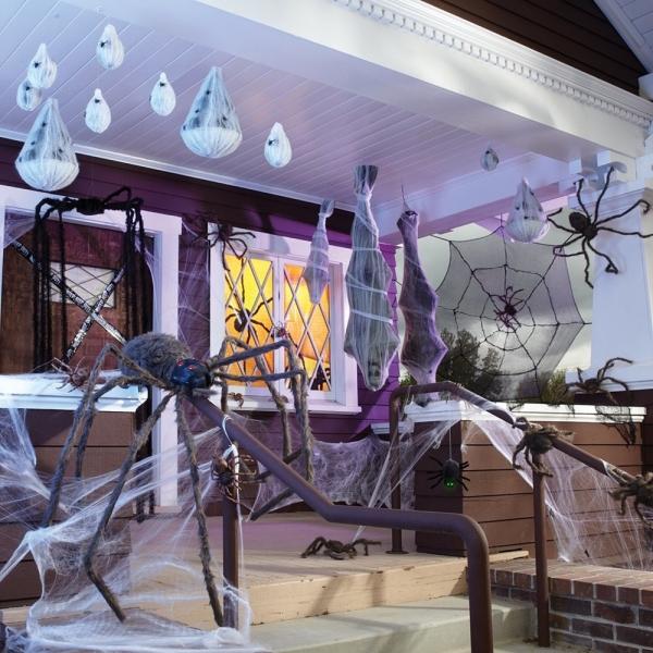 хэллоуин декор в доме