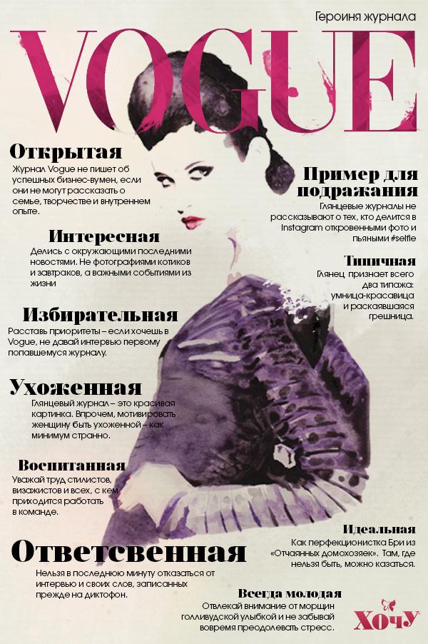 Как стать героиней журнала Vogue - фото №1